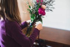 Make that bouquet